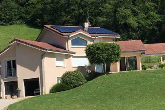 Pose de panneaux solaires thermiques à Villefranche-sur-Saône