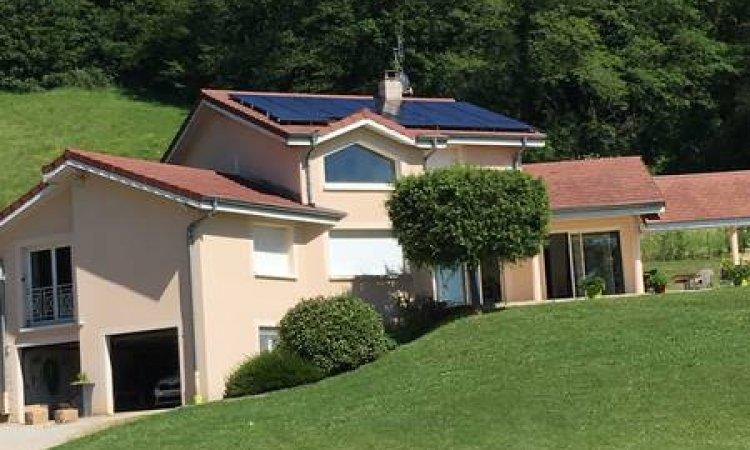 Panneaux solaires à Villefranche-sur-Saône