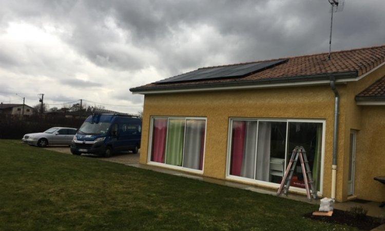 Pose de panneaux solaire photovoltaïque